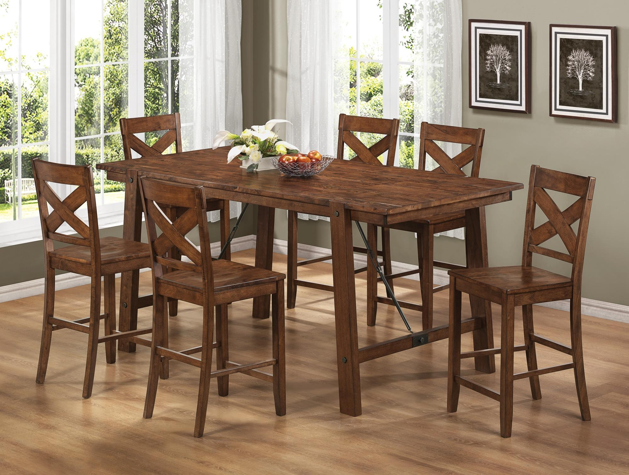 Lawson Rectangular Counter Height Dining Room Set