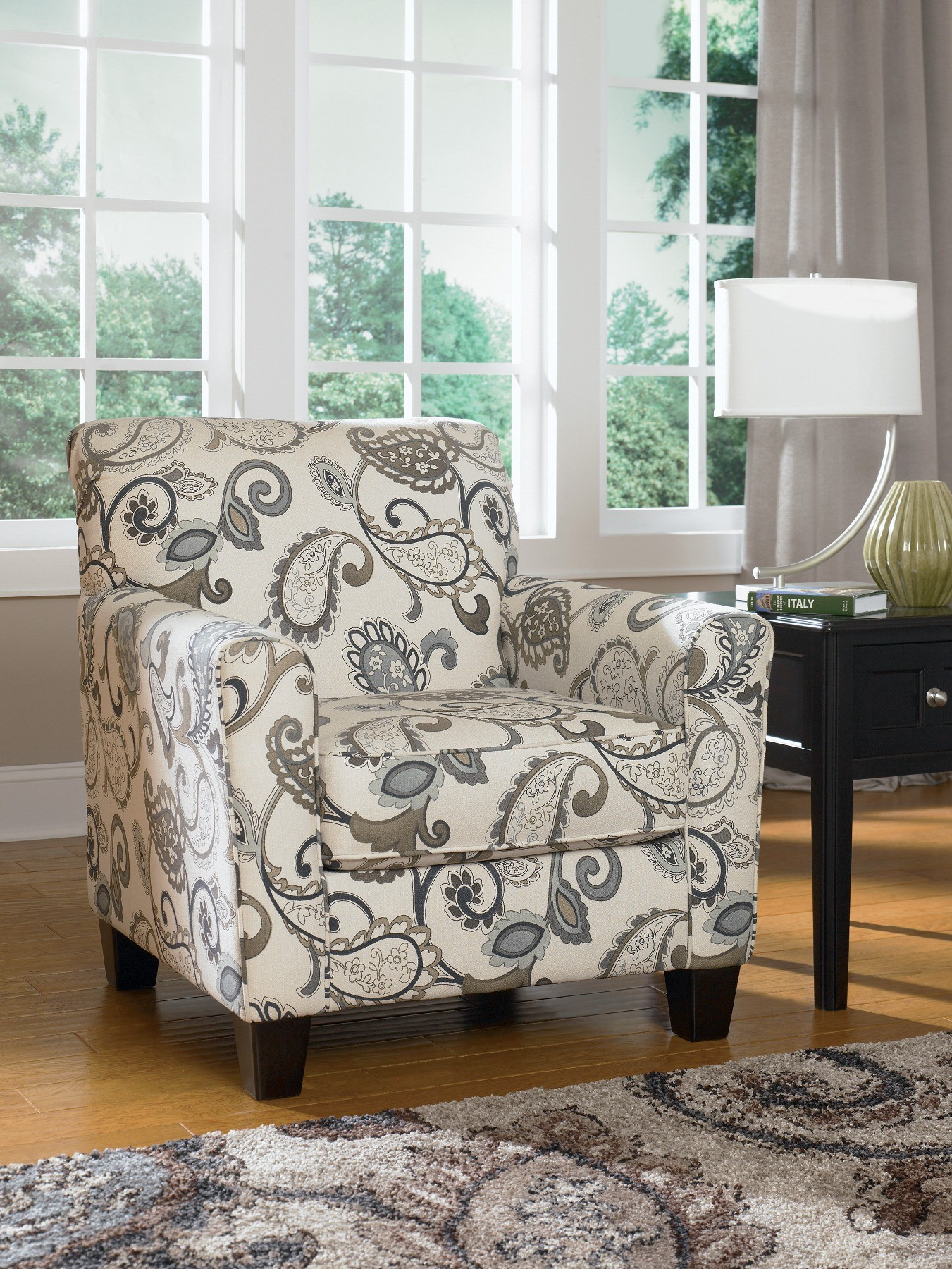 Ashley Yvette Steel Accent Chair 7790021 Chairs