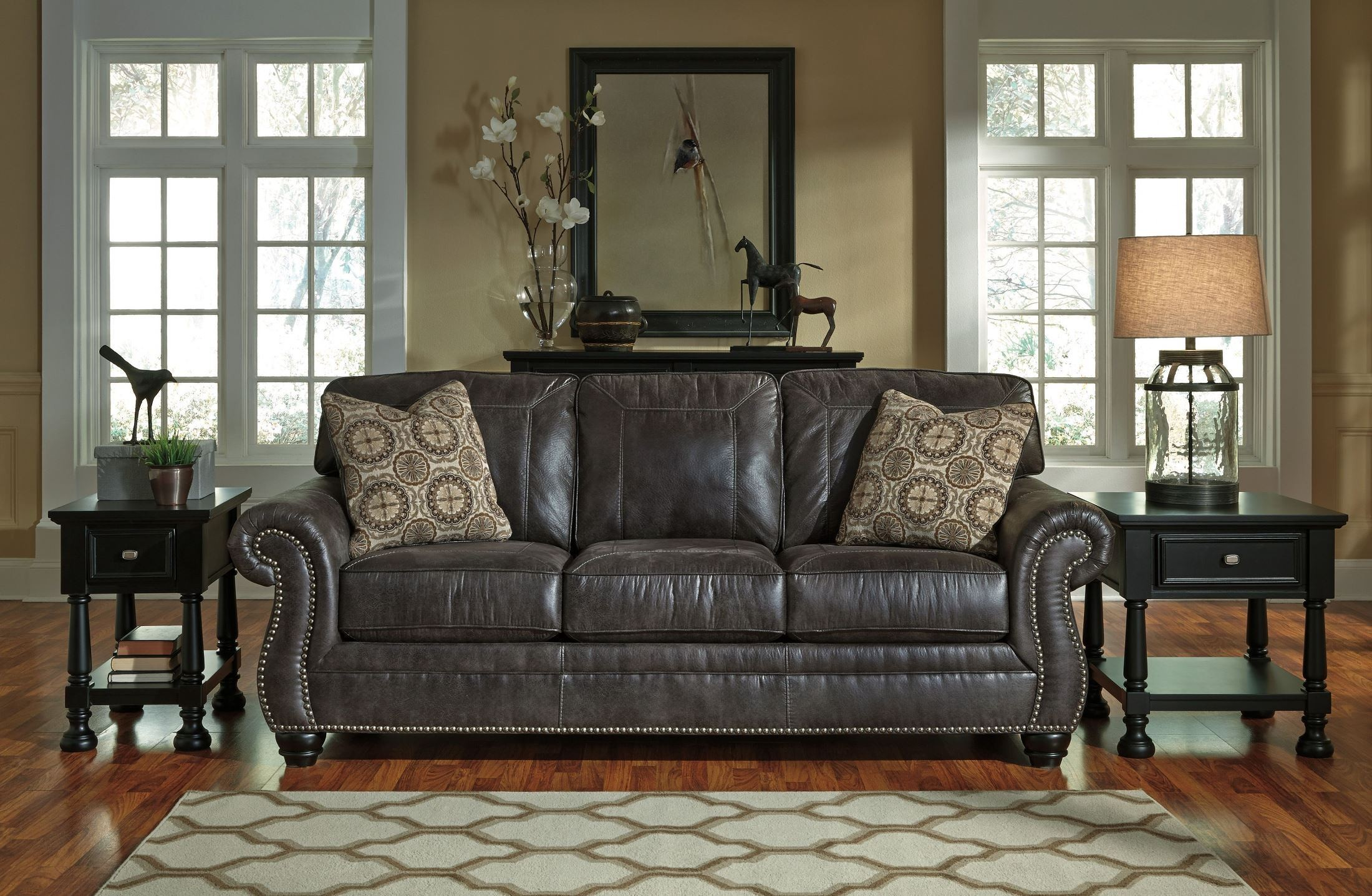 Breville Charcoal Sofa Ashley Furniture