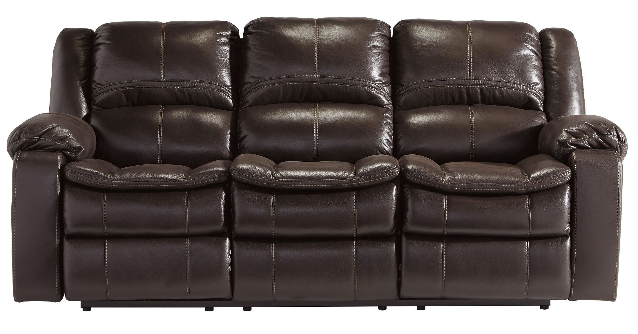 Long Knight Brown Reclining Sofa 8890588 Ashley Furniture