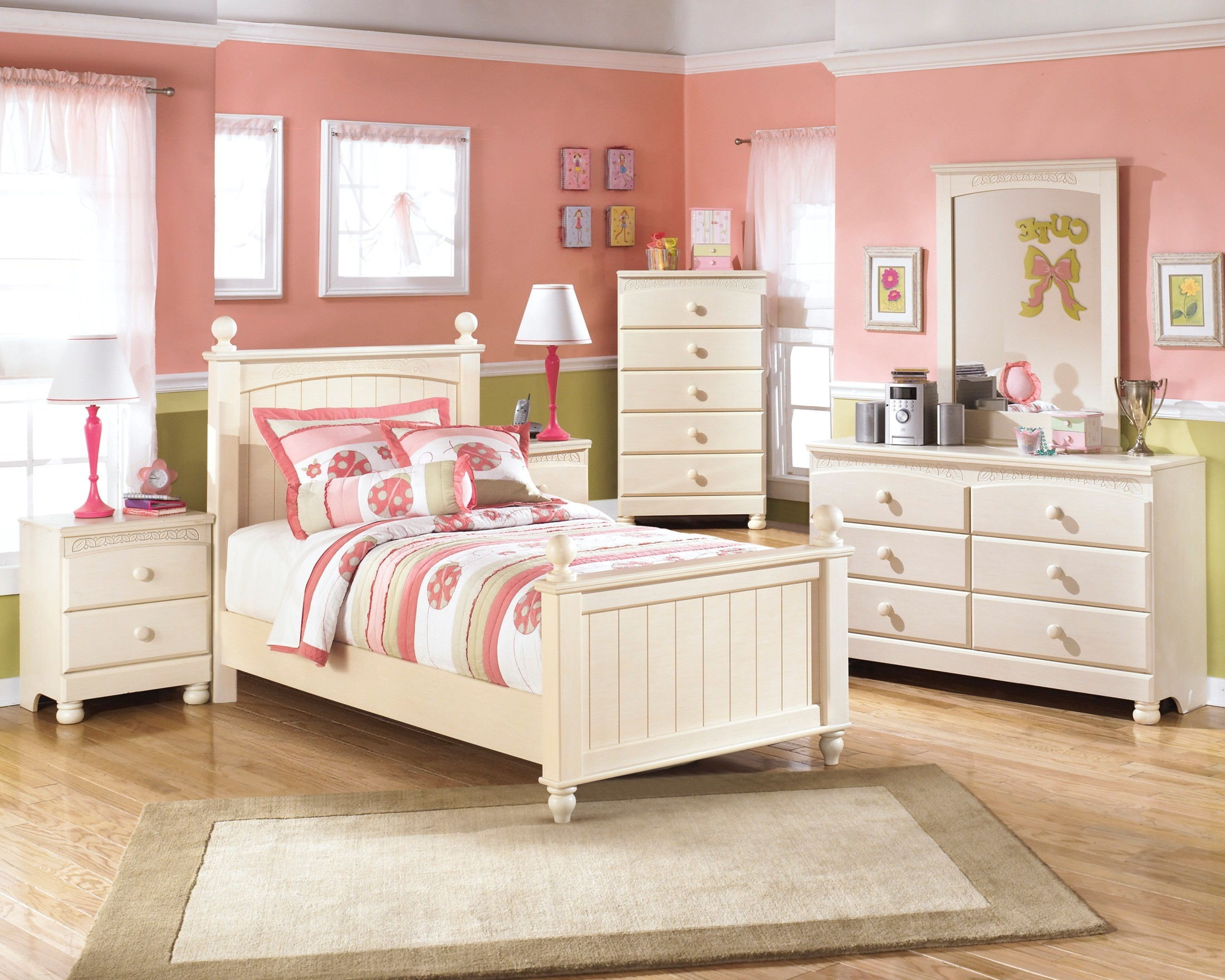 Furniture cottage retreat poster youth bedroom set b213 kids bedroom furniture Cottage retreat collection bedroom furniture
