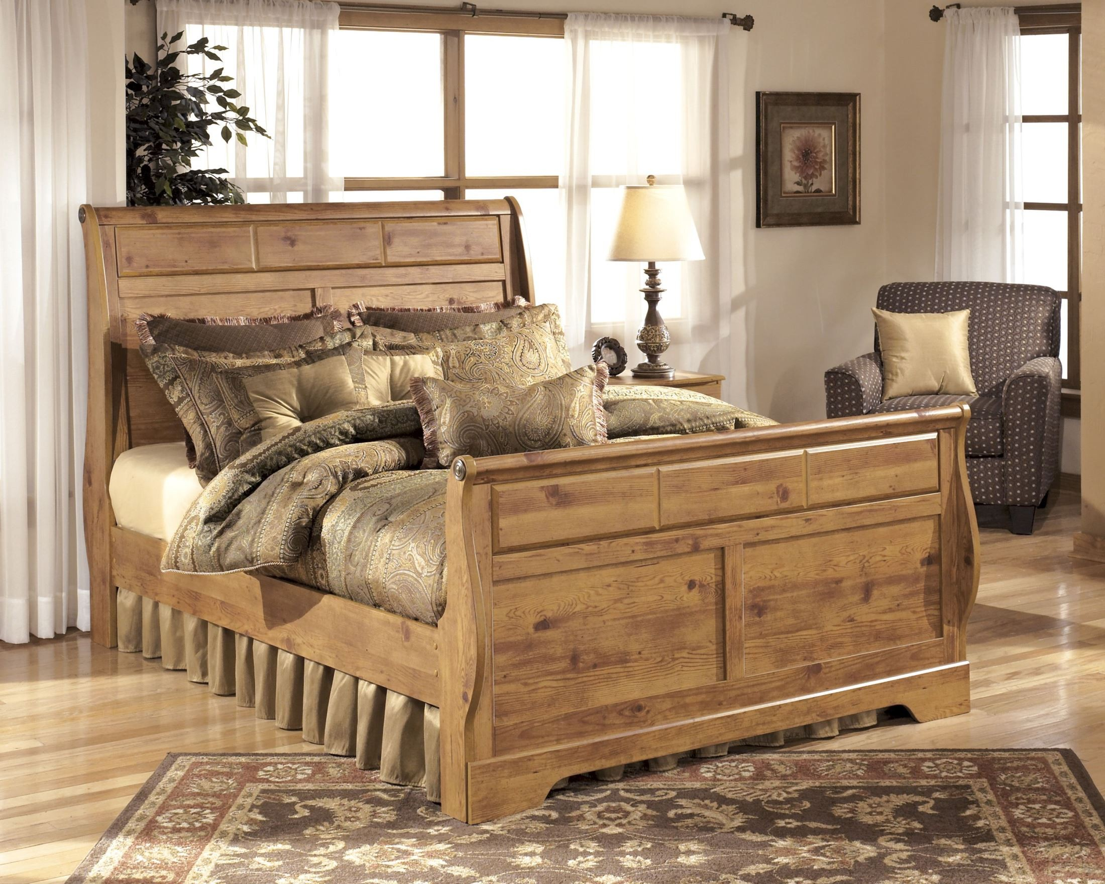 ashley furniture bittersweet sleigh bedroom set b219 65