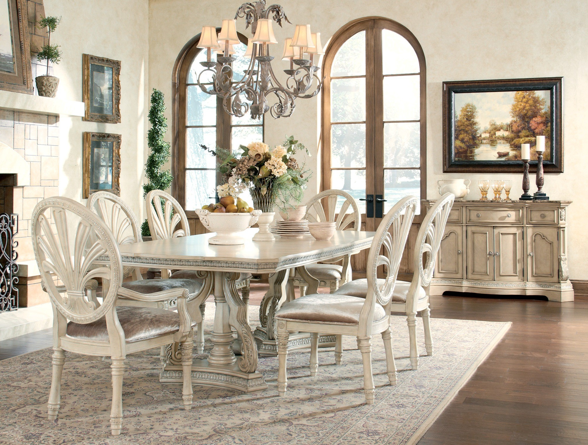 home ortanique rectangular dining room set
