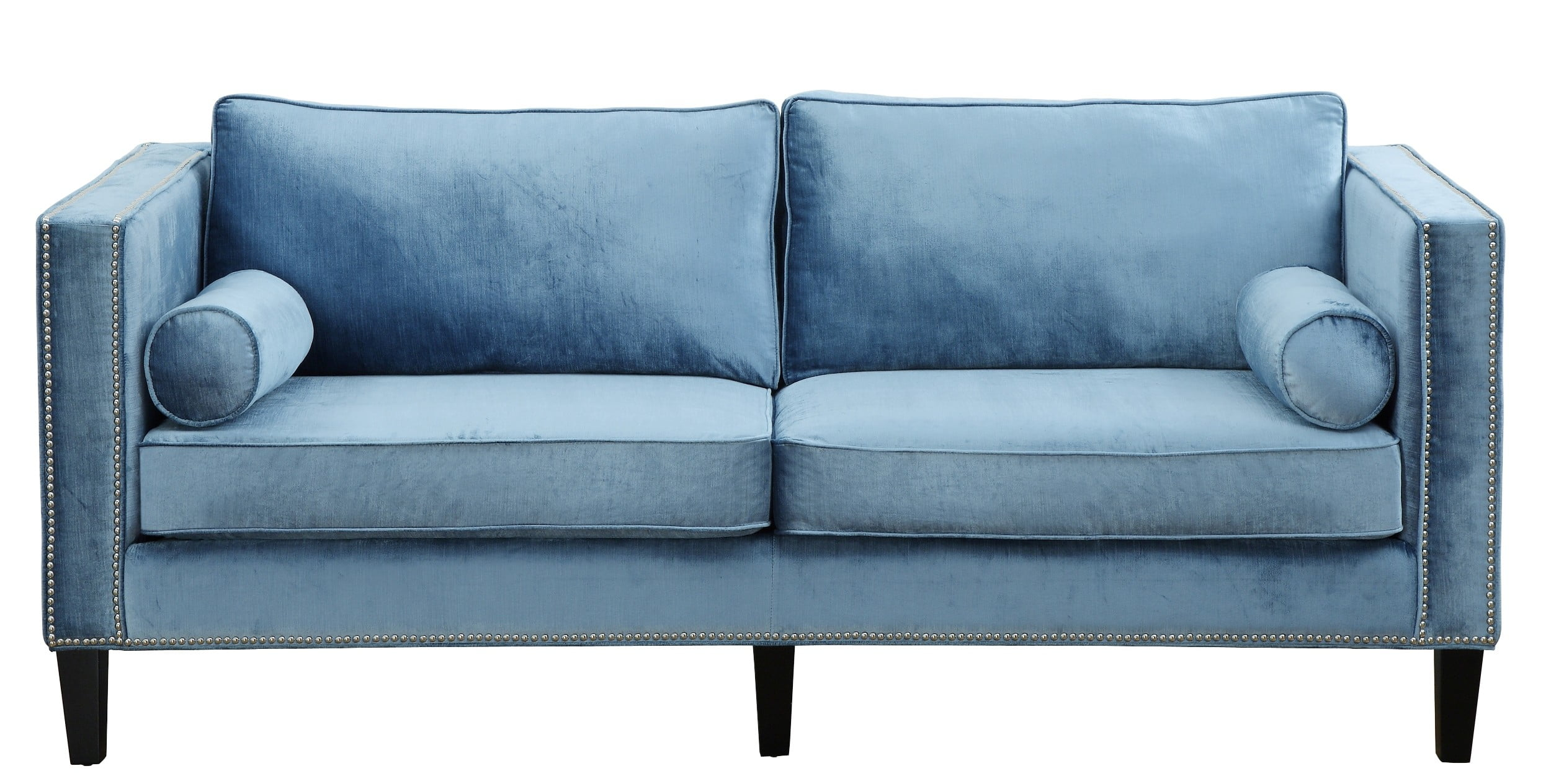 Cooper Blue Velvet Sofa Tov S18 Tov Furniture