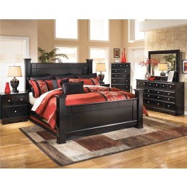 Shay Poster Bedroom Set