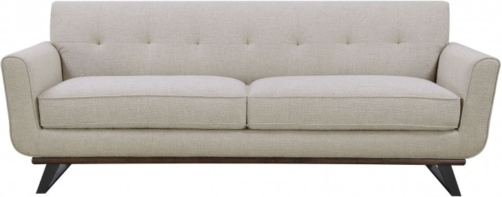 Urban Eclectic Beige Sofa From Ski