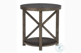 Jessoli Brown End Table