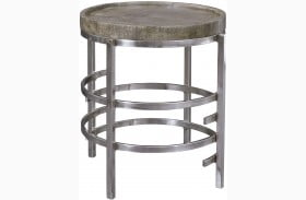 Zinelli Gray End Table